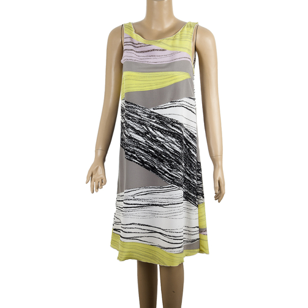 M Missoni Printed Shift Dress S