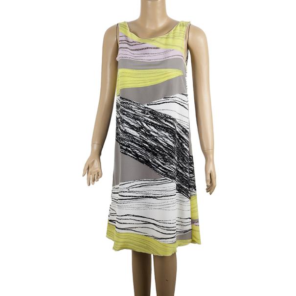 M Missoni Printed Shift Dress S