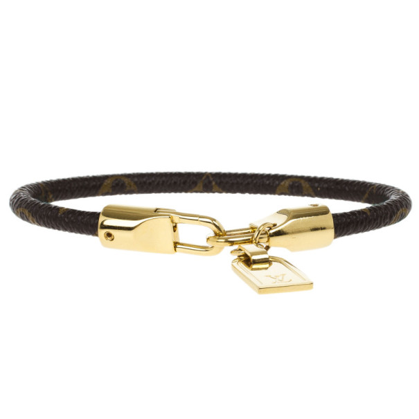 Louis Vuitton Monogram Luck It Bracelet 20CM