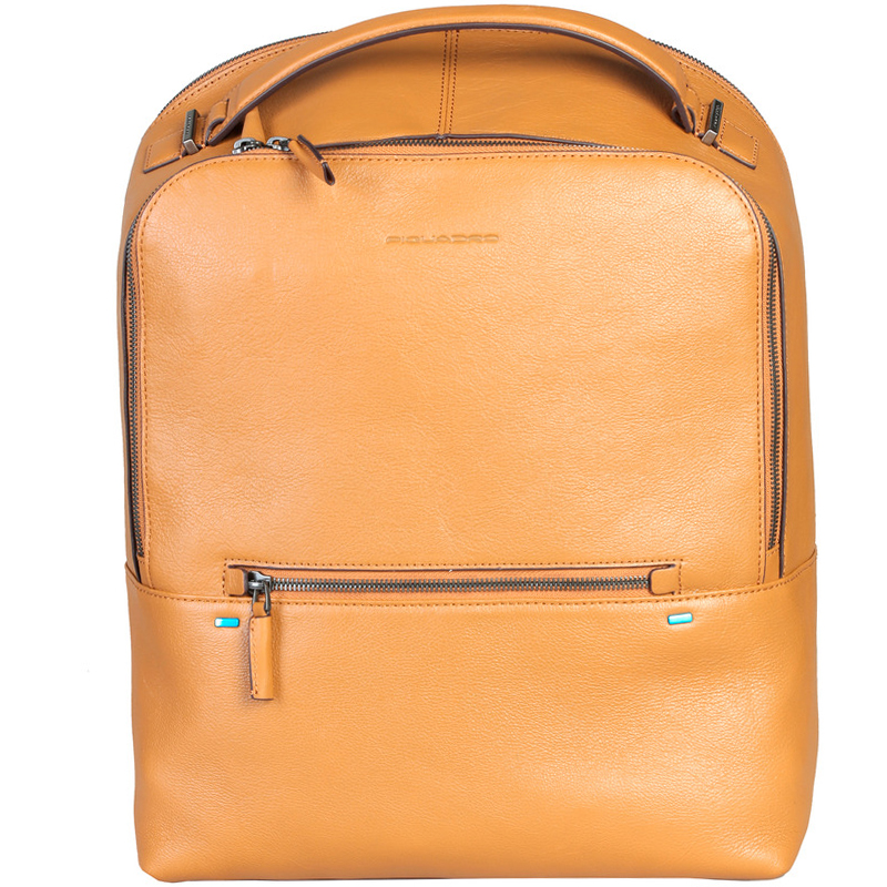 Купить со скидкой Piquadro Tan Leather Backpack