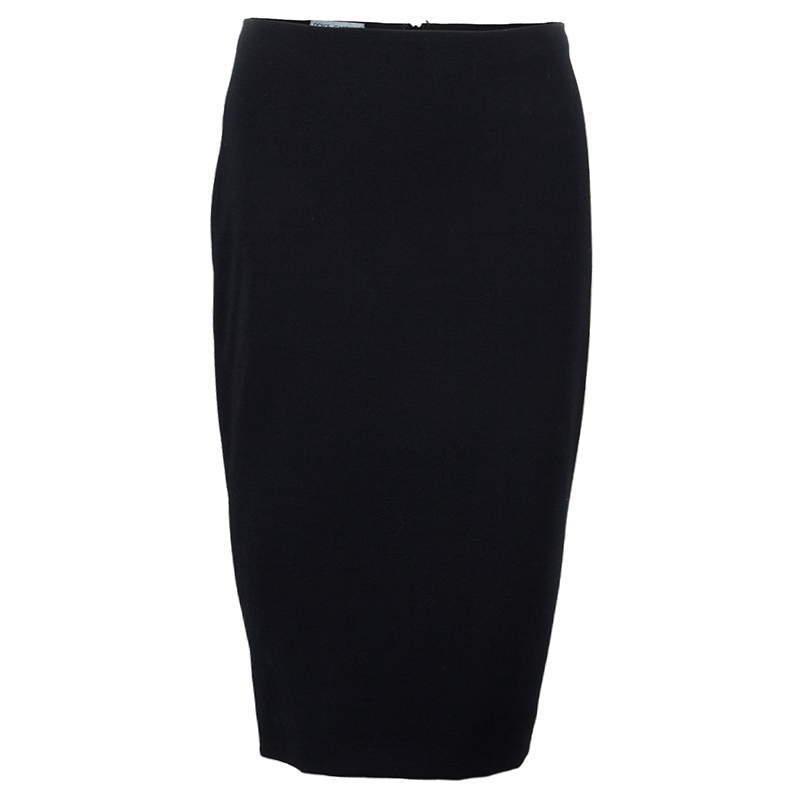 Dolce and Gabbana Black Skirt Suit S