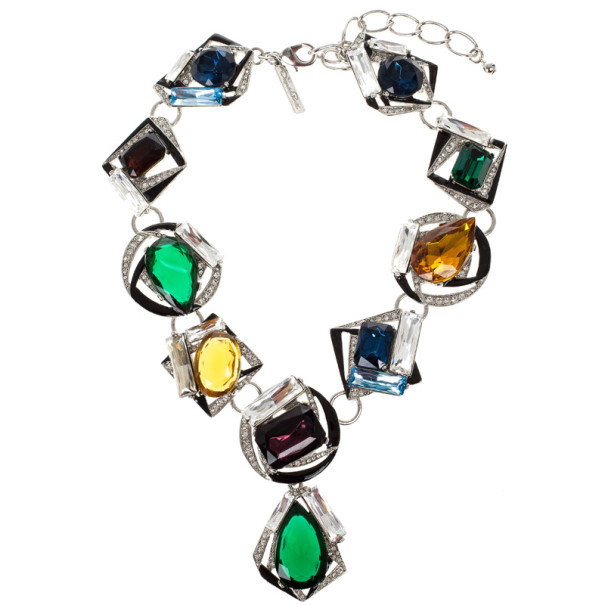 Oscar de la Renta Swarovski Crystal Necklace