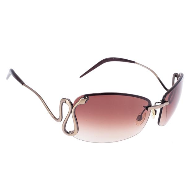 Roberto Cavalli Febe Serpent Sunglasses
