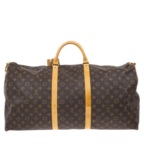 Louis Vuitton Monogram Canvas Keepall Bandouliere 60