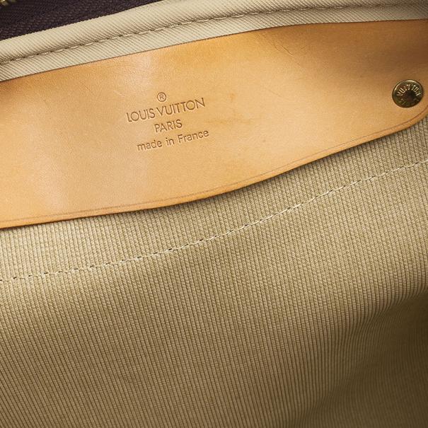 Louis Vuitton Monogram Canvas Alize 2 Poches Soft Suitcase