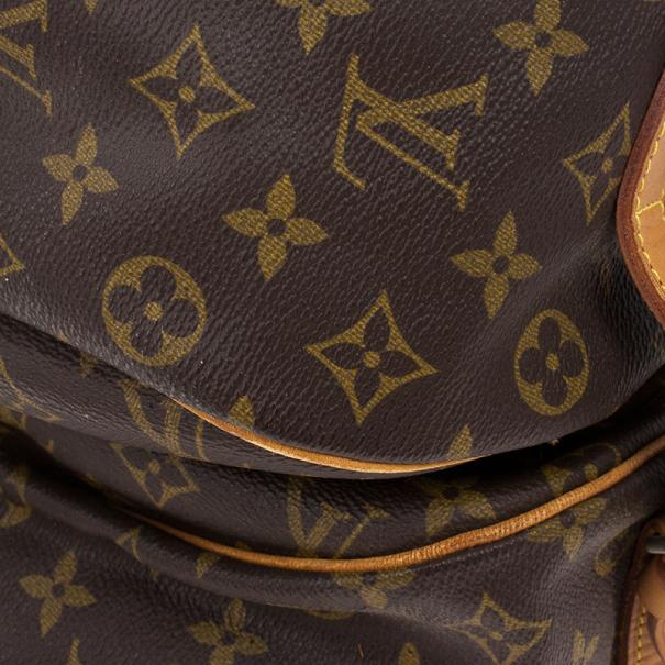 Louis Vuitton Monogram Canvas Saumur 43