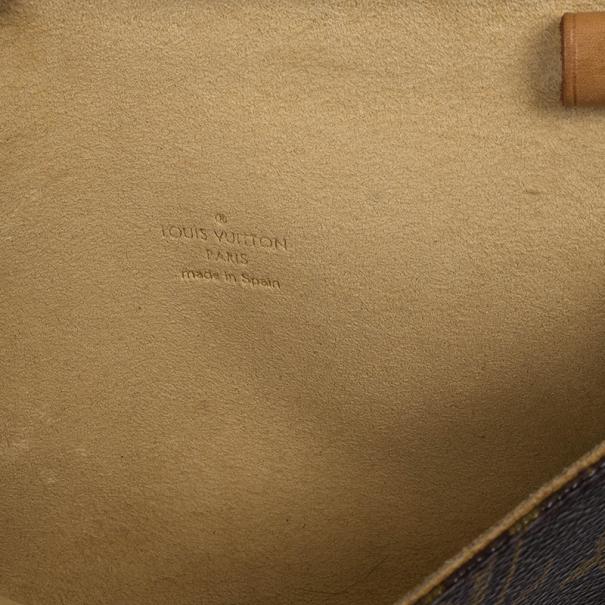 Louis Vuitton Monogram Canvas Pochette Twin PM