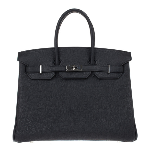Hermes Black Togo Leather Birkin 35