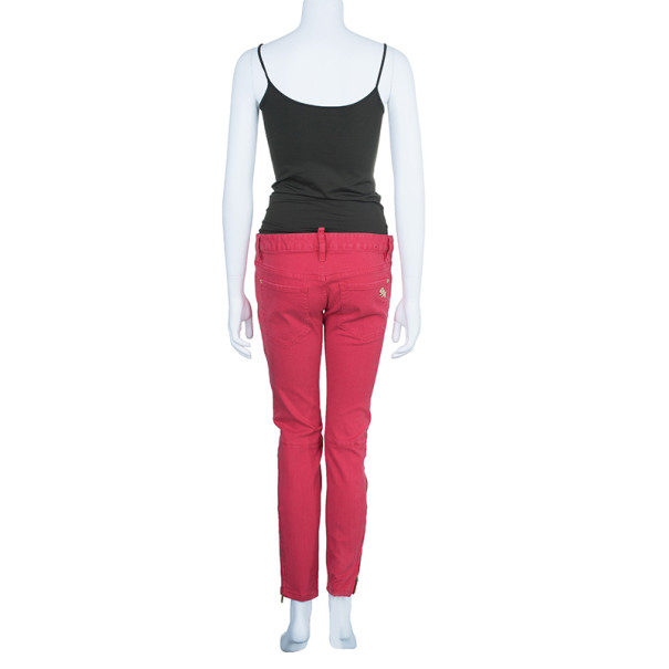 Dsquared2 Red Skinny Jeans M