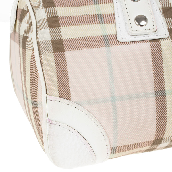 Burberry Small Candy Check Satchel