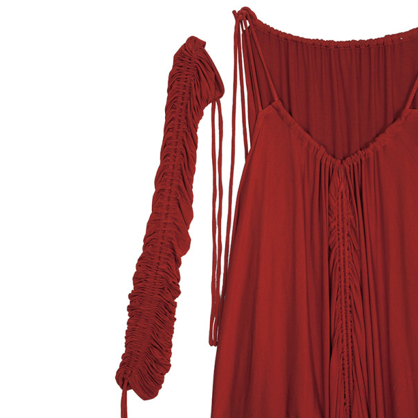 Dolce and Gabbana Red Dress S