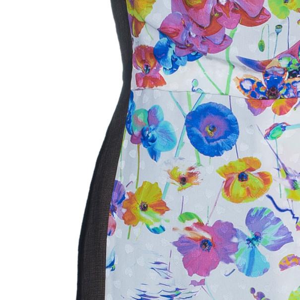 Marc Jacobs Floral Chiffon Dress S
