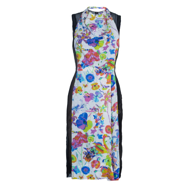 Marc Jacobs Floral Chiffon Dress S