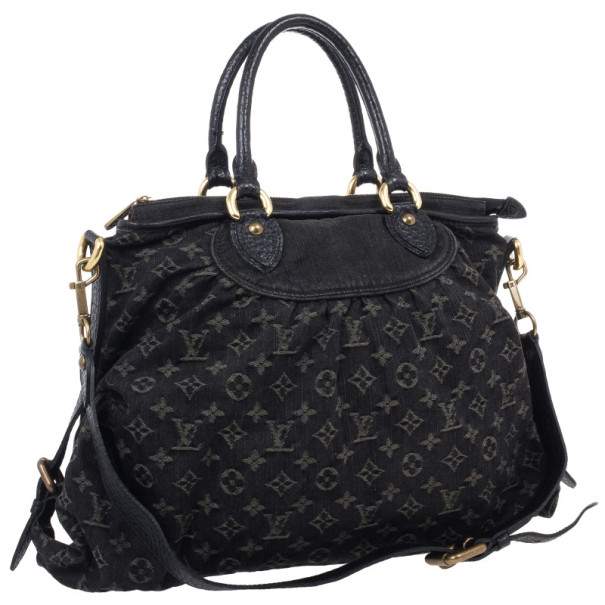 Louis Vuitton Fusain Monogram Idylle Neo Cabby GM Tote