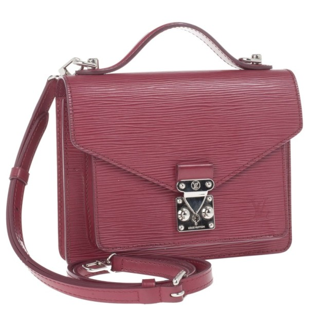 Louis Vuitton Fushia Epi Monceau BB