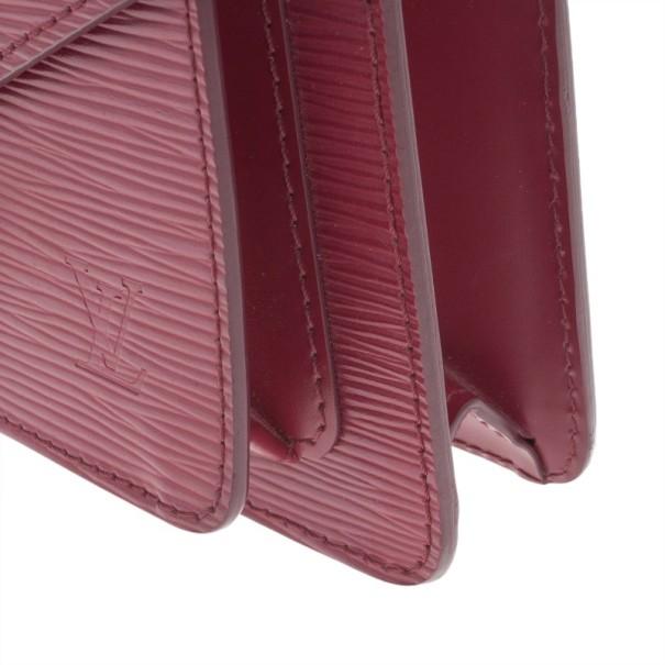 Louis Vuitton Fushia Epi Monceau BB