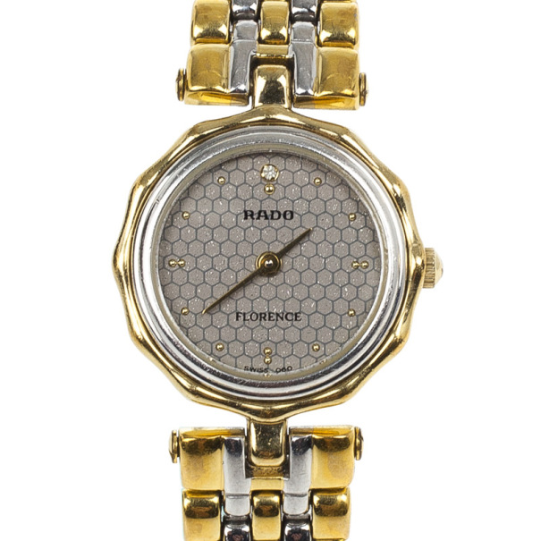 Rado Silver Stainless Steel Florence Women's Wristwatch 21MM