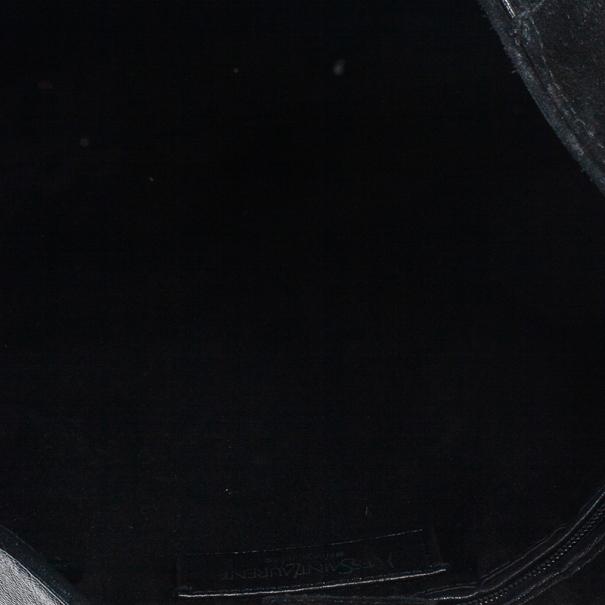 Saint Laurent Paris Black Studded Mombasa
