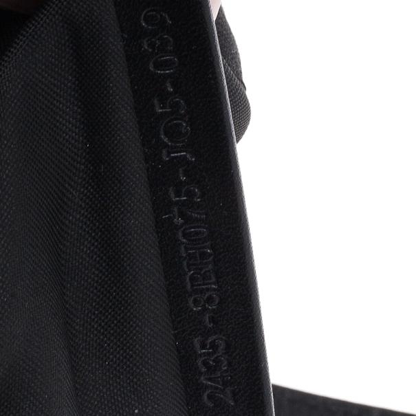 Fendi Black Mini Zucca Tote
