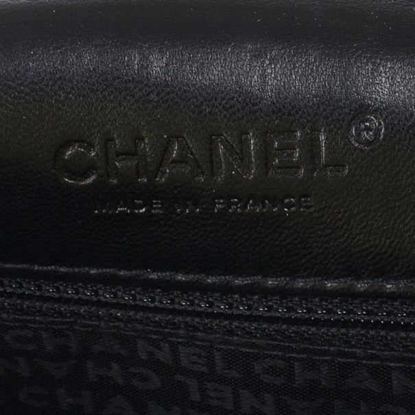 Chanel Black and White Tweed Small Flap Bag