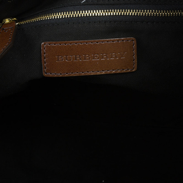 Burberry Small House Check Tote