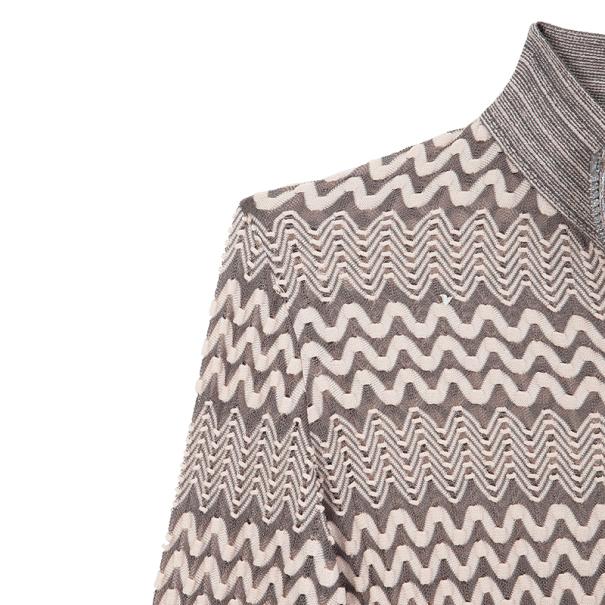 Missoni Zip Up Sweater M