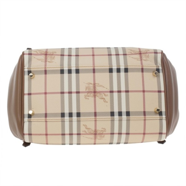Burberry Haymarket Patchwork Small Canterbury Tote