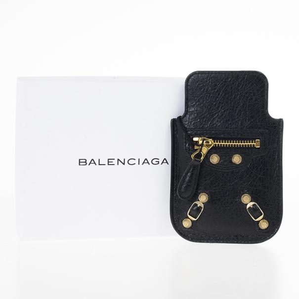 Balenciaga Black Arena Giant iPhone Cover