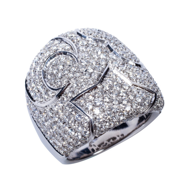 Pasquale Bruni Diamond Band Ring Size 55