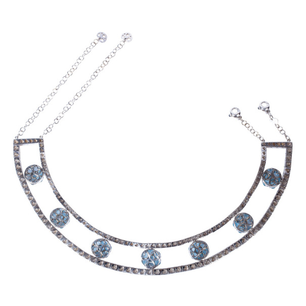 Pasquale Bruni Diamond and Colored Gemstones Choker Necklace