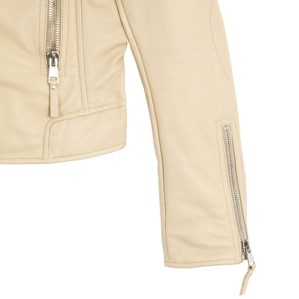 Balenciaga Moto Leather Jacket L
