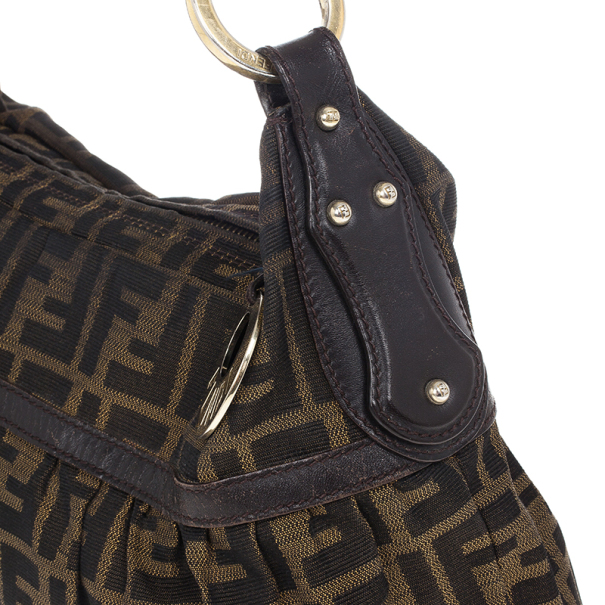 Fendi Chef Zucca Shoulder Bag