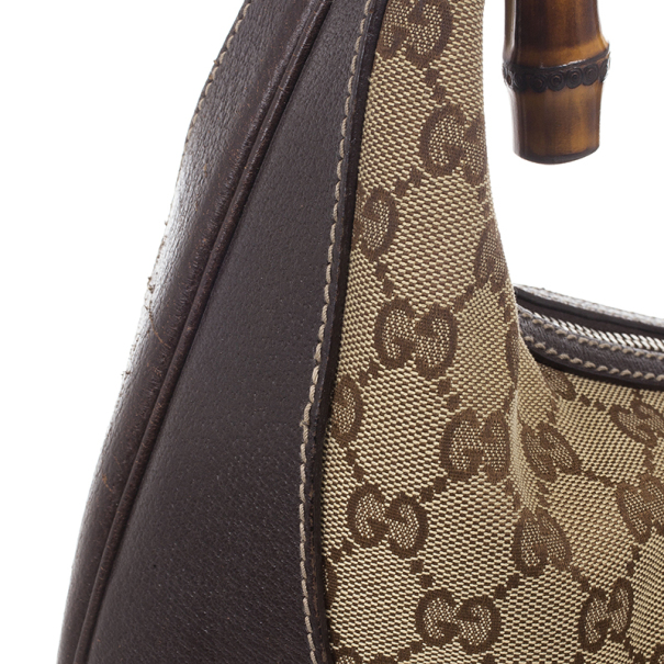 Gucci GG Monogram Canvas Amalfi Hobo