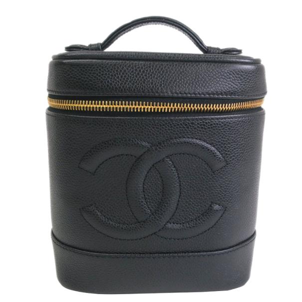 Chanel Caviar Leather Vanity Bag
