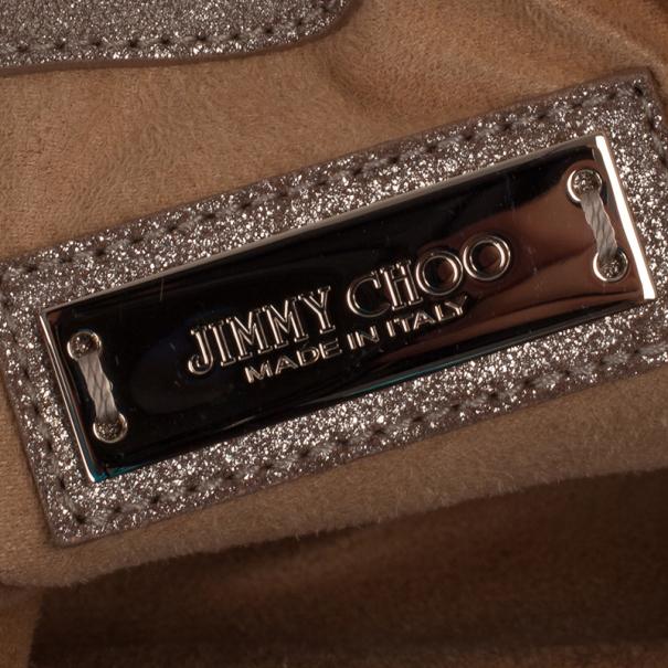 Jimmy Choo Metallic Sky Bangle Hobo