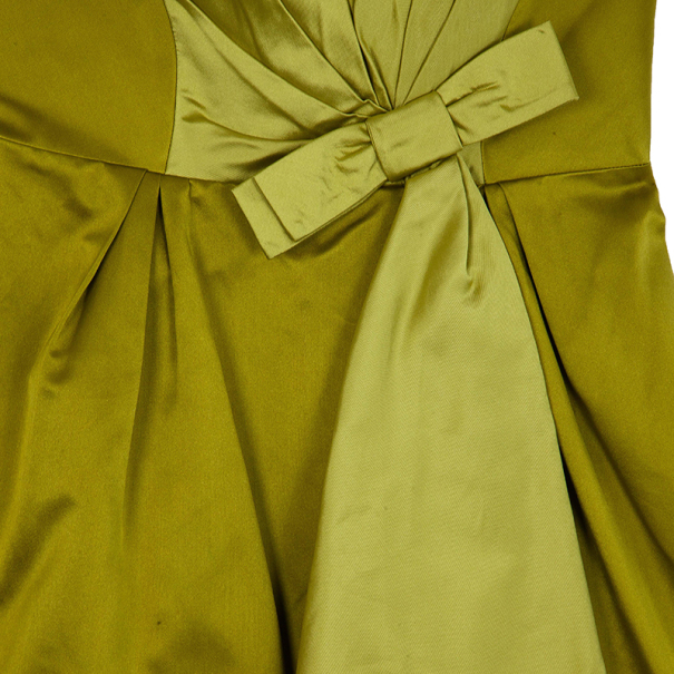 Paule Ka Yellow Bolero & Dress Set L