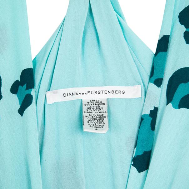 Diane Von Furstenberg Silk Jersey Moritz Dress M