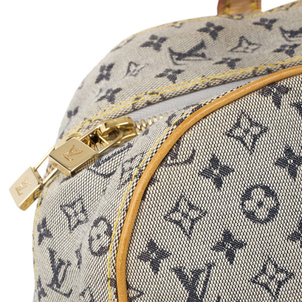Louis Vuitton Encre Monogram Mini Lin Josephine GM Satchel