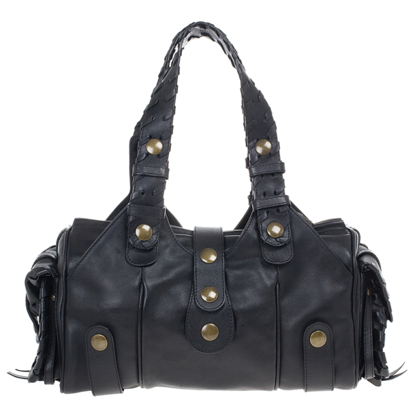 Chloe Black Leather Silverado Bag