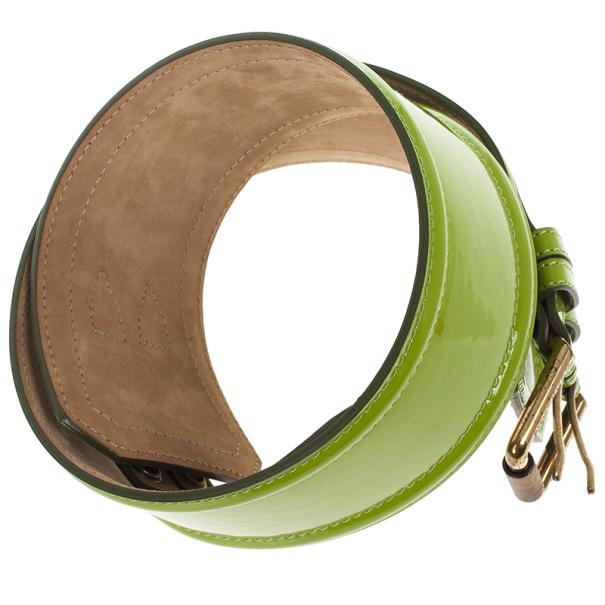 Burberry Prorsum Patent Leather Corset Belt 80 CM
