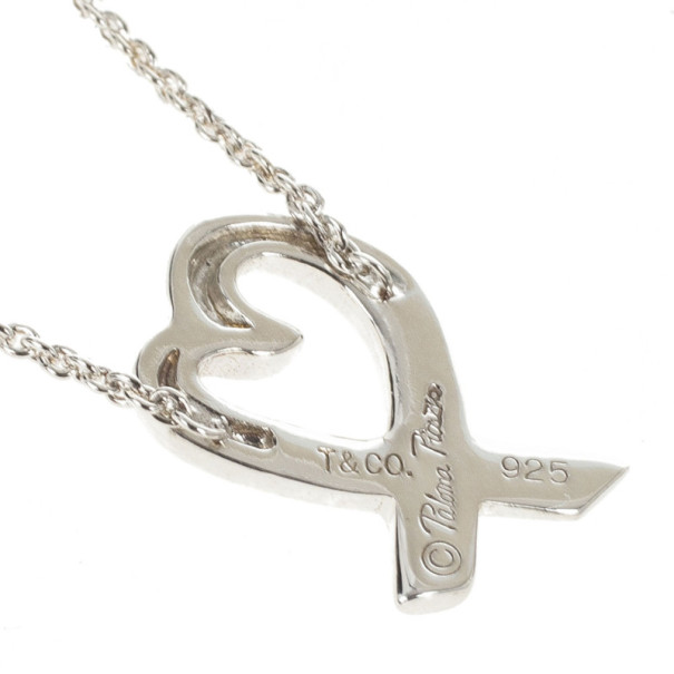 Tiffany & Co. Paloma Picasso Loving Heart Pendant
