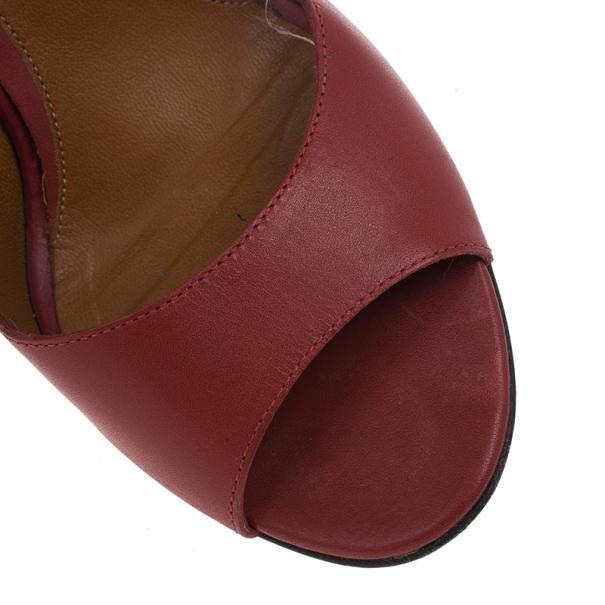 Fendi Pequin Open Toe Pumps Size 37