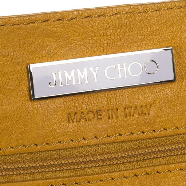 Jimmy Choo 'Ramona' Biker Leather and Snakeskin Hobo