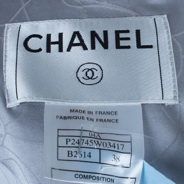 Chanel Multicolor Bouclé Jacket M