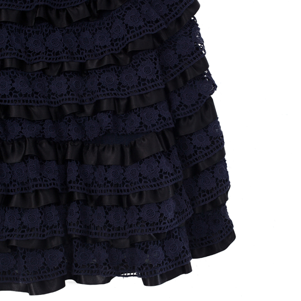 Marc by Marc Jacobs Lace Tiered Dress XS