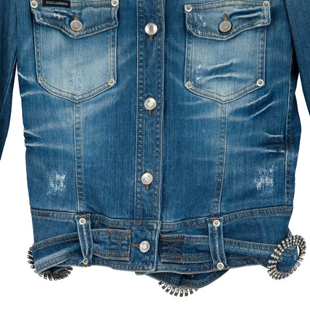 Dolce and Gabbana Denim Jacket L