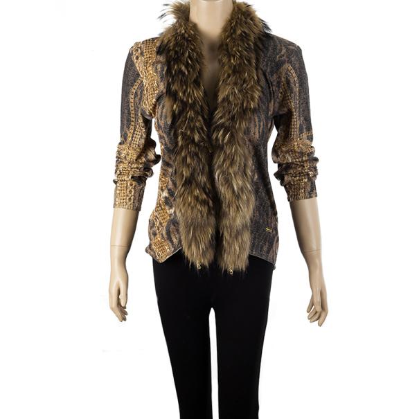 Roberto Cavalli Fur Collar Jacket M