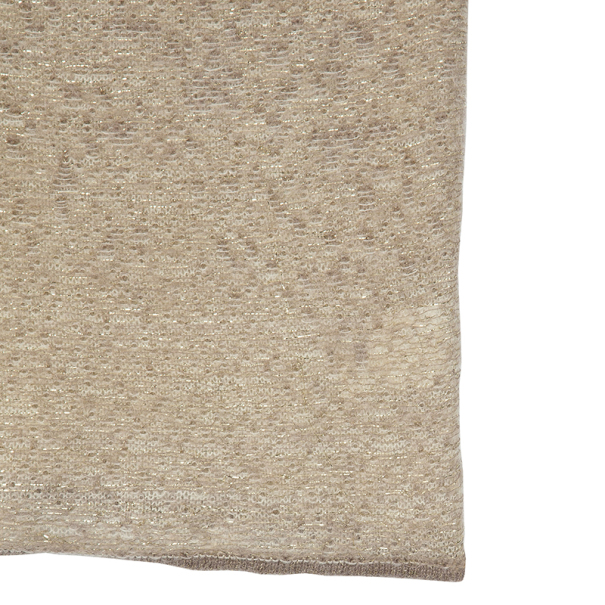 Valentino Beige Mohair Sleeveless Top L