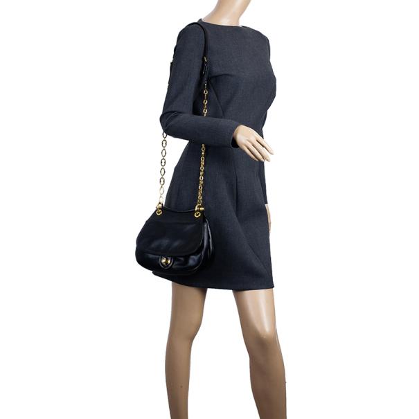 Miu Miu Chain Strap Shoulder Bag