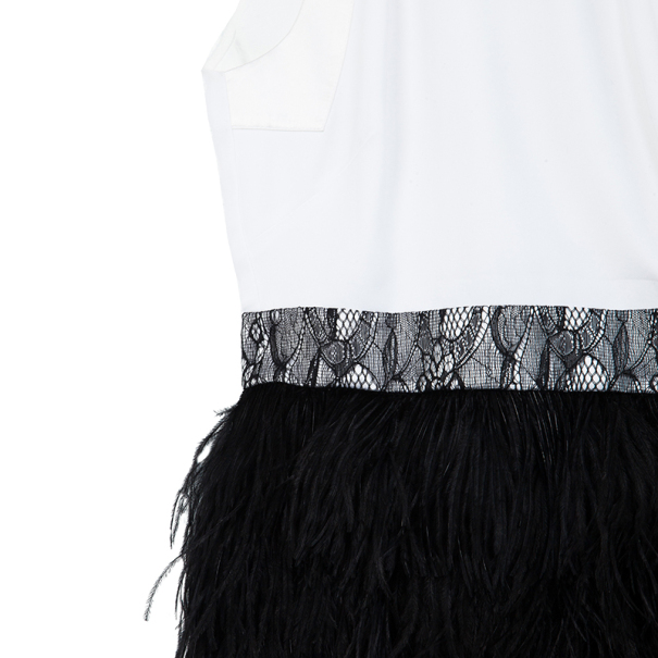 Givenchy Feathered Dress S